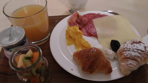 モンティパレスホテルの朝食