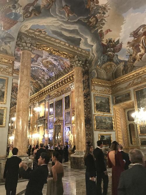 コロンナ宮殿内部