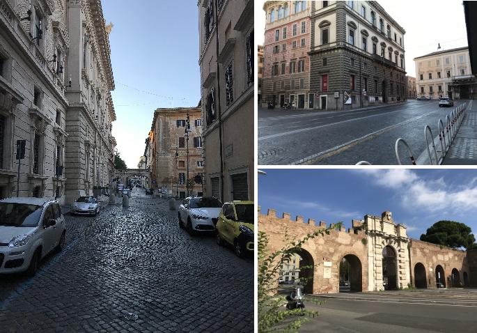 ローマの朝の続き