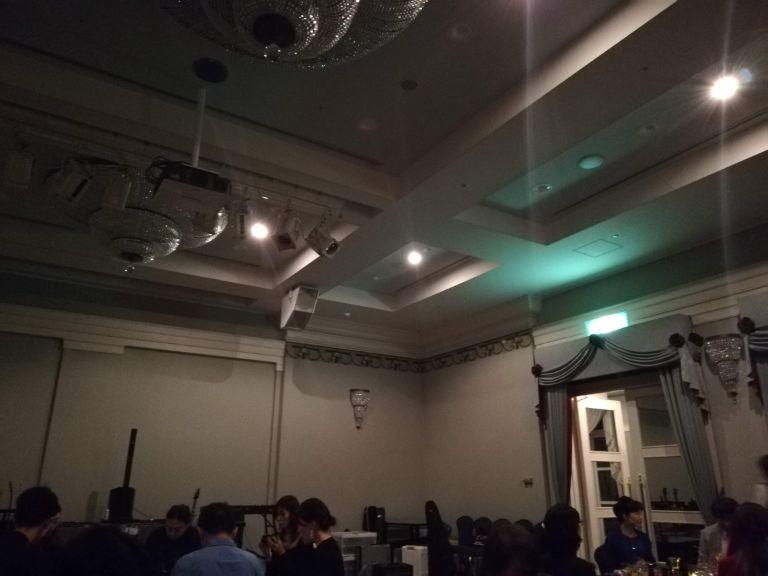 停電のホテル